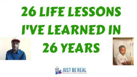 26 Life Lessons I've Learned In 26 Years